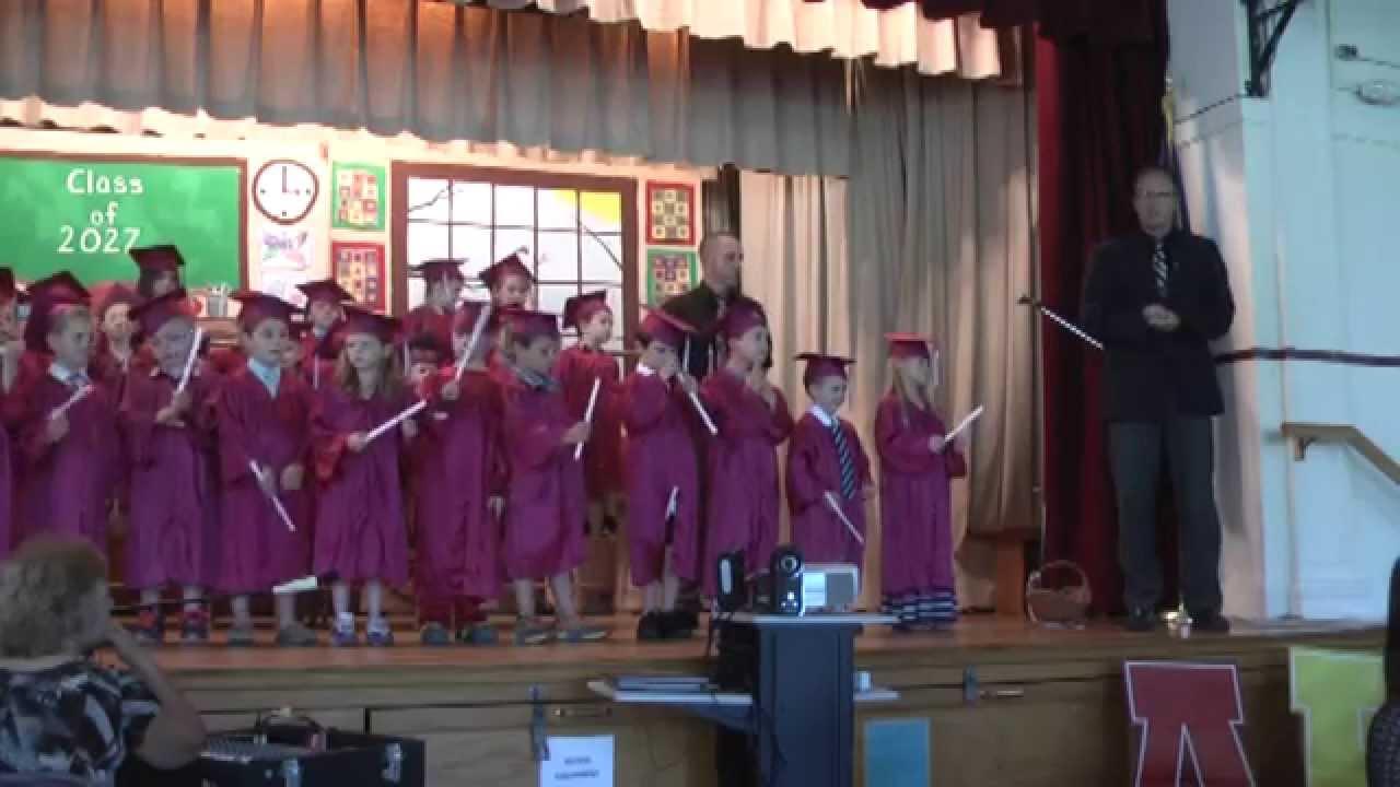 RPES Kindergarten Graduation  6-19-15