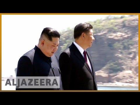 🇰🇵 Kim Jong-un met Xi in China before Trump summit | Al Jazeera English