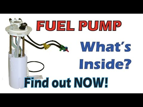 Tear apart an electric Fuel pump & How it Works - YouTube
