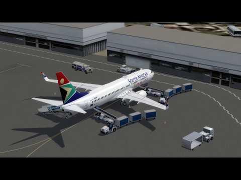 Flight from Johannesburg  to Antananarivo (South African)
