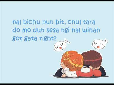 24/7 Heaven Lyrics Bangtan Boys (easy lyrics)