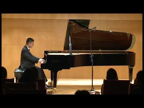 Piano Recital Ming-Yen Hsieh 2018 , Beethoven Piano Sonate No.26 in E-flat major , Op. 81a