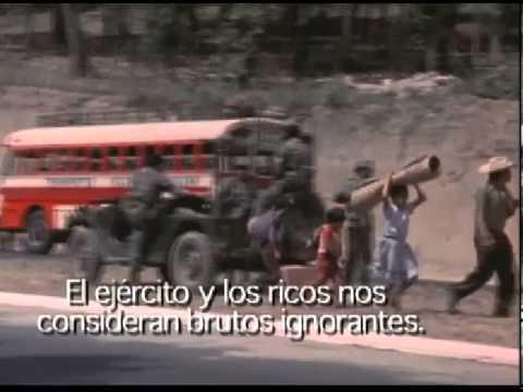 Cuando las Montañas Tiemblan (((Rios Montt))) Si hubo genocidio