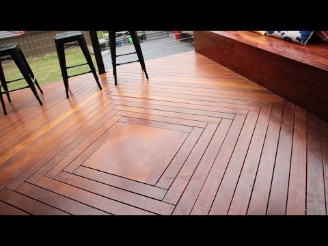 Awesome Parquetry Deck