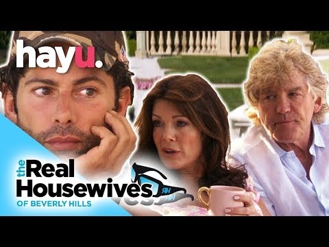Lisa and Ken Tell Cedric To Move Out | The Real Housewives of Beverly Hills