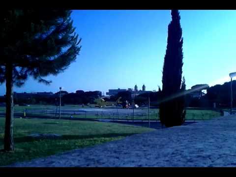 Decollo elicottero 118. Roma