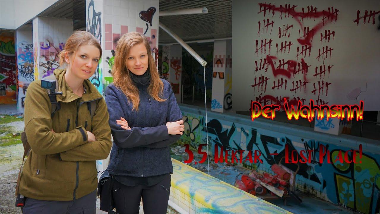 Verlassene Klinik - Der Mega Lost Place! 3,5 Hektar - Lisa & Vanessa im XXL Spot
