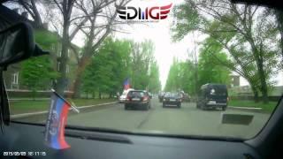 Горловка. Автопробег 9 мая 2015 года.(Авторское видео от организаторов., 2015-05-11T15:43:01.000Z)