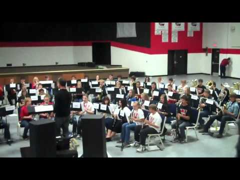 New Covenant Academy And Other Mark Twain Conference Band Students
