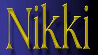Burt Bacharach ~ Nikki
