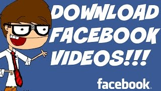 How to download video from facebook without any software. 2015(Hi guys, please do support me on patreon! https://www.patreon.com/HelloWorldVideos I would really appreciate your help. :)) This is how to download a video ..., 2013-03-29T15:14:08.000Z)