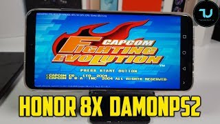 Honor 8X DamonPS2 Pro Gaming test/PS2 Games with emulator/Kirin 710/Mali G51
