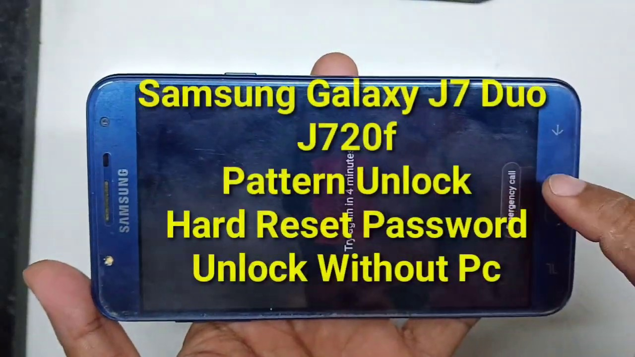 Samsung Galaxy J7 Duo (J720F) Hard reset Factory reset