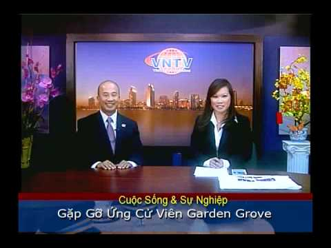 VNTV Gặp Gỡ Ứng Cử Viên Garden Grove: CHRIS PHAN