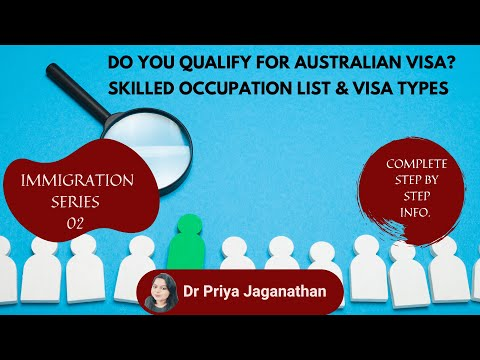 Australia GSM Visa Type| Australia Skilled Occupations List 2020 | STSOL And MLTSSL Occupations List