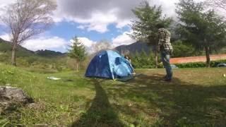 Come montare una tenda - Parco nazionale d'Abruzzo Lazio Molise - Opi - Campeggio