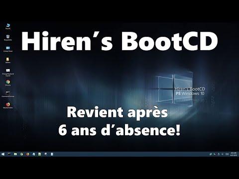Hiren's Boot CD : Il Revient Après 6 Ans D'absence !