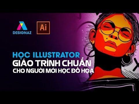 Bài 1, Hướng dẫn học illustrator cho người mới bắt đầu, giáo trình illustrator
