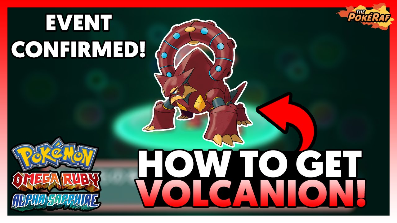 how to get volcanion code