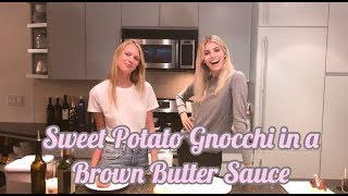 Sweet Potato Gnocchi | Cook With Me | Devon Windsor