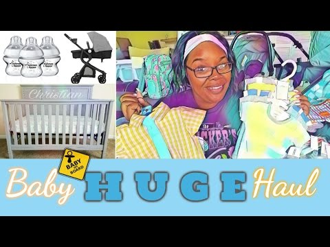 HUGE Baby Boy Haul 2017 | Products & Clothes | DomTheFemme