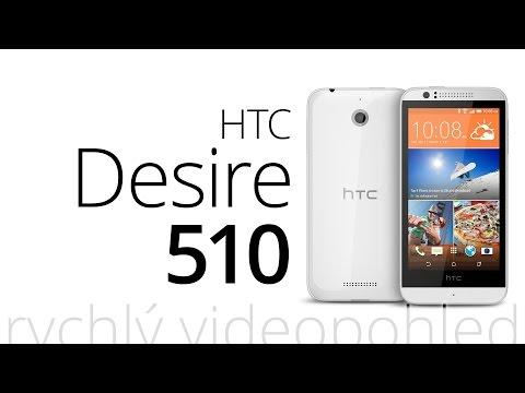 HTC Desire 510 (rychlý videopohled)