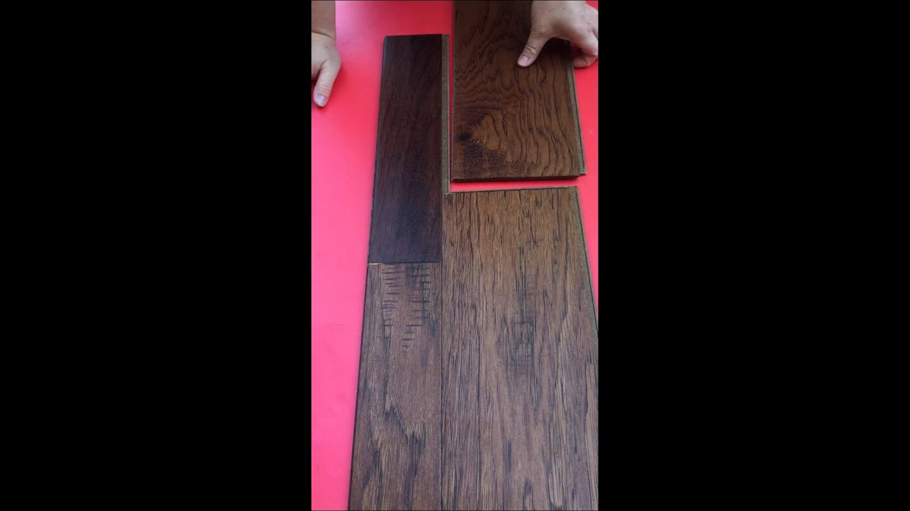 How To Click Home Legend Barrett Distressed Hickory Flooring