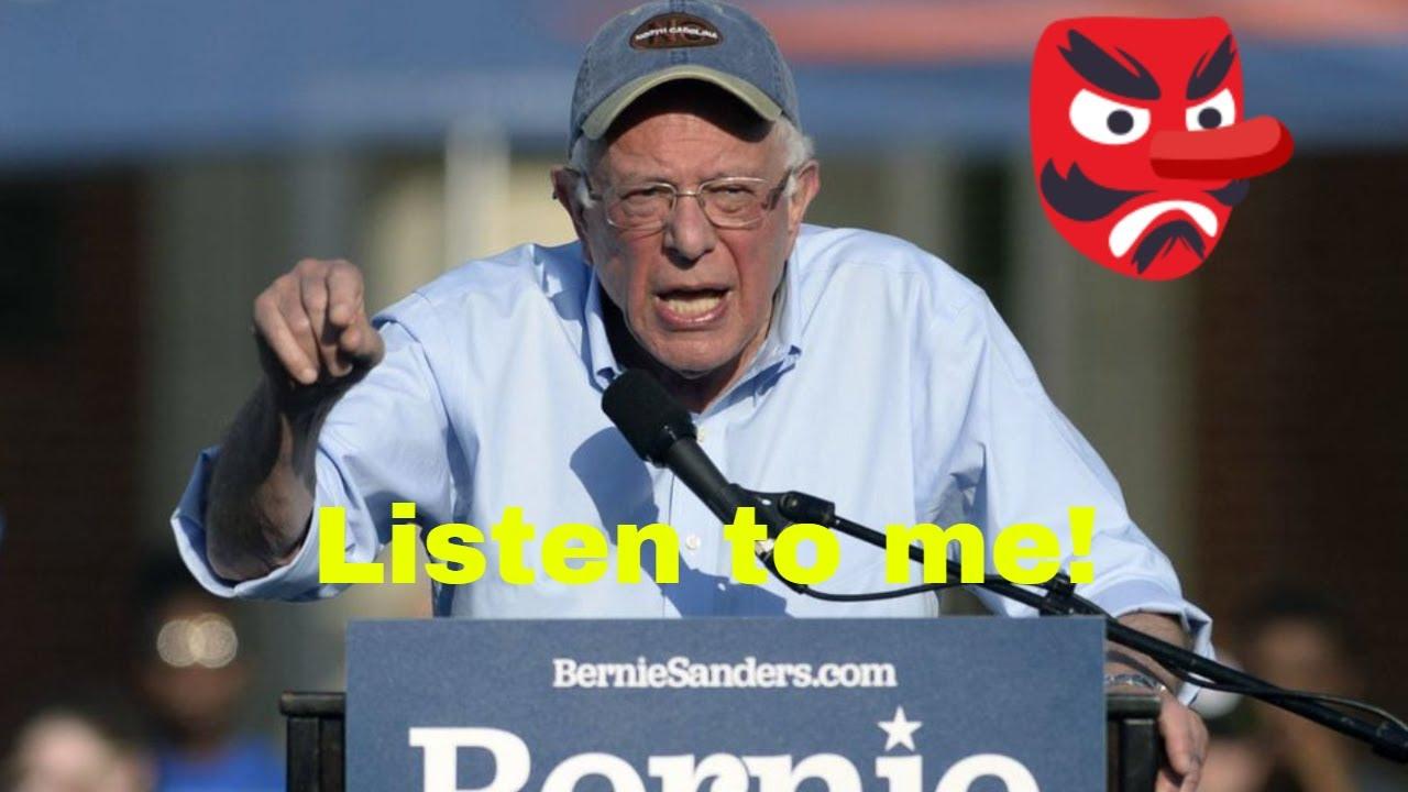 Bernie Sanders speaks on Robert Smith's student loan payment to Morehouse men