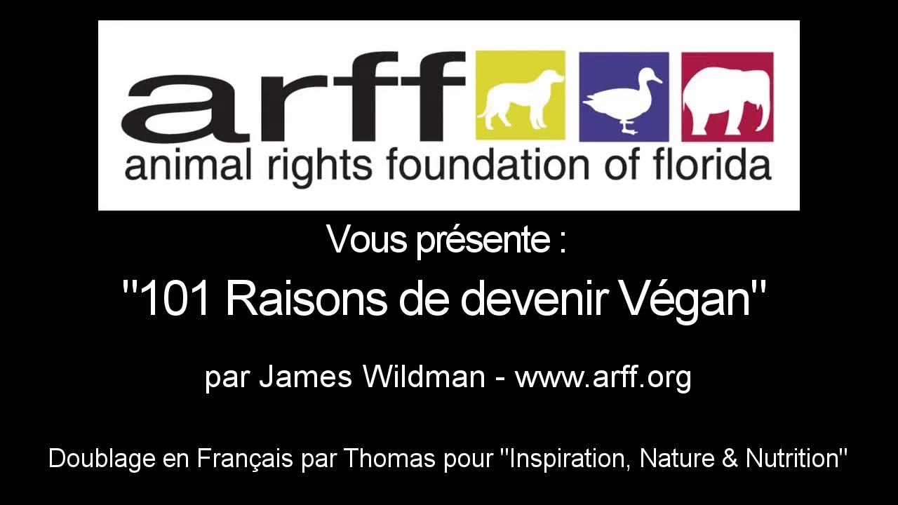 """Résultat de recherche d'images pour """"101 raisons de devenir vegan, par James Wildman"""""""