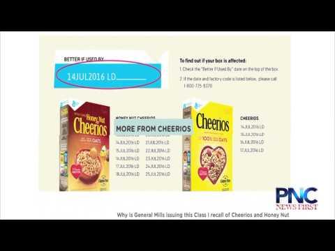 Cheerios Recall Affects Guam, Public Health Says