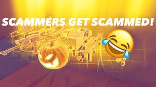 FORTNITE SCAMMERS GET SCAMMED COMPILATION! *NEW!* (Nocturno And Gravedigger!)