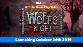 Скачать Wolf S Night Slot By NetEnt Coming 24th October 2019