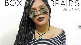 Box Braids/ Linha de Crochê | Tranças curtas.