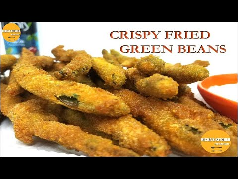 Crispy Fried Green Beans the perfect starter for your party. Easy to make recipe [10 minutes only].