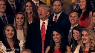 Trump Tells Reporter to Be 'Quiet'