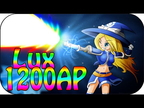 1200 Full AP Lux - Sniper Girl in League [ger]