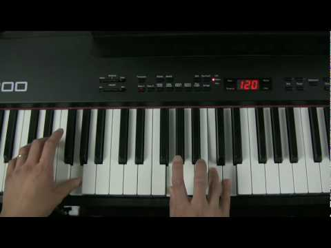 Piano chords improvisation
