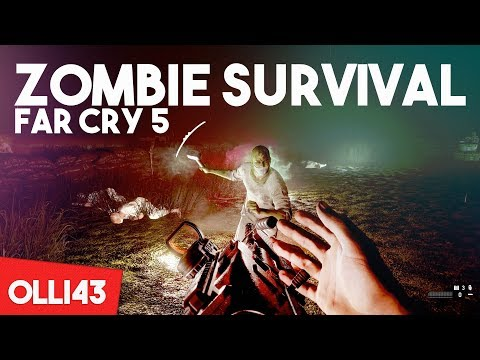 FAR CRY 5 - SCARIEST ZOMBIE SURVIVAL