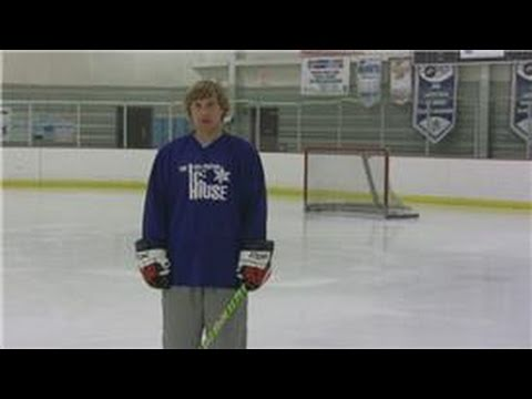 Ice Hockey Tips : Basics of How to Play a Power Forward in Hockey