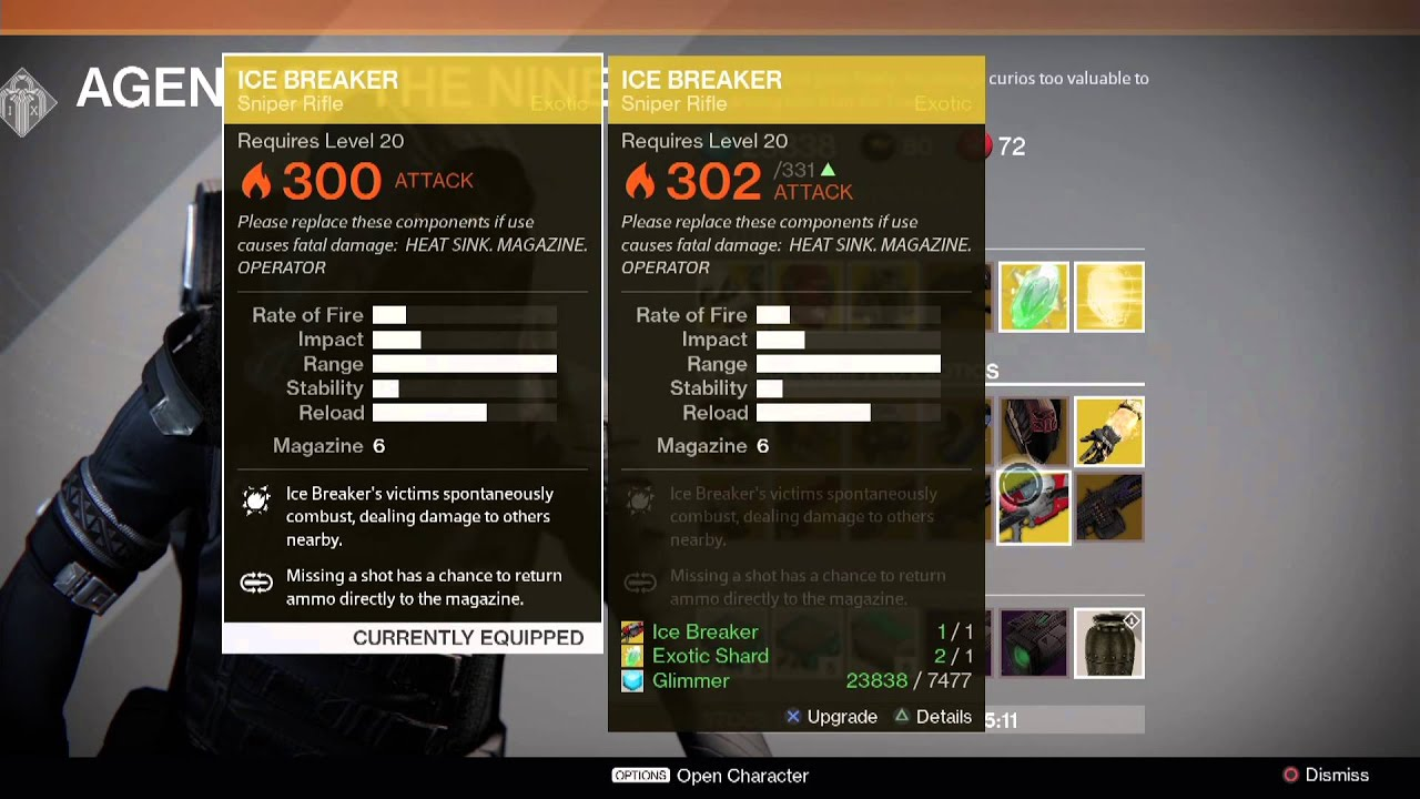 Destiny Xur Location and Items for 12/12/14