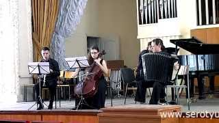 "V.Vlasov. Concert Triptych ""The Last Judgement"" (Bayan, Clarinet, Cello and Piano)"