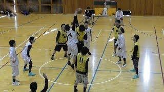 【合同練習試合】20171126第1試合 馬助会vs新成会籠球部