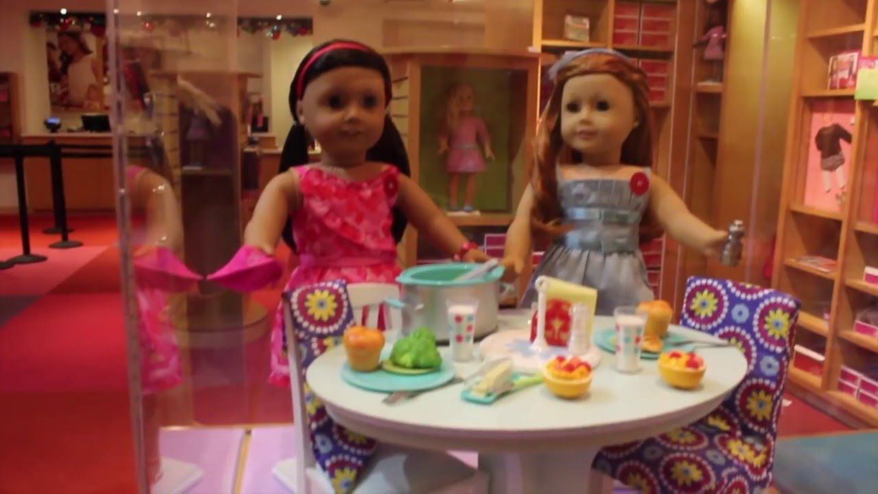 american girl place new york store tour vlog youtube. Black Bedroom Furniture Sets. Home Design Ideas