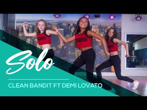 Solo - Clean Bandit ft Demi Lovato - Easy Kids Dance Video Choreography