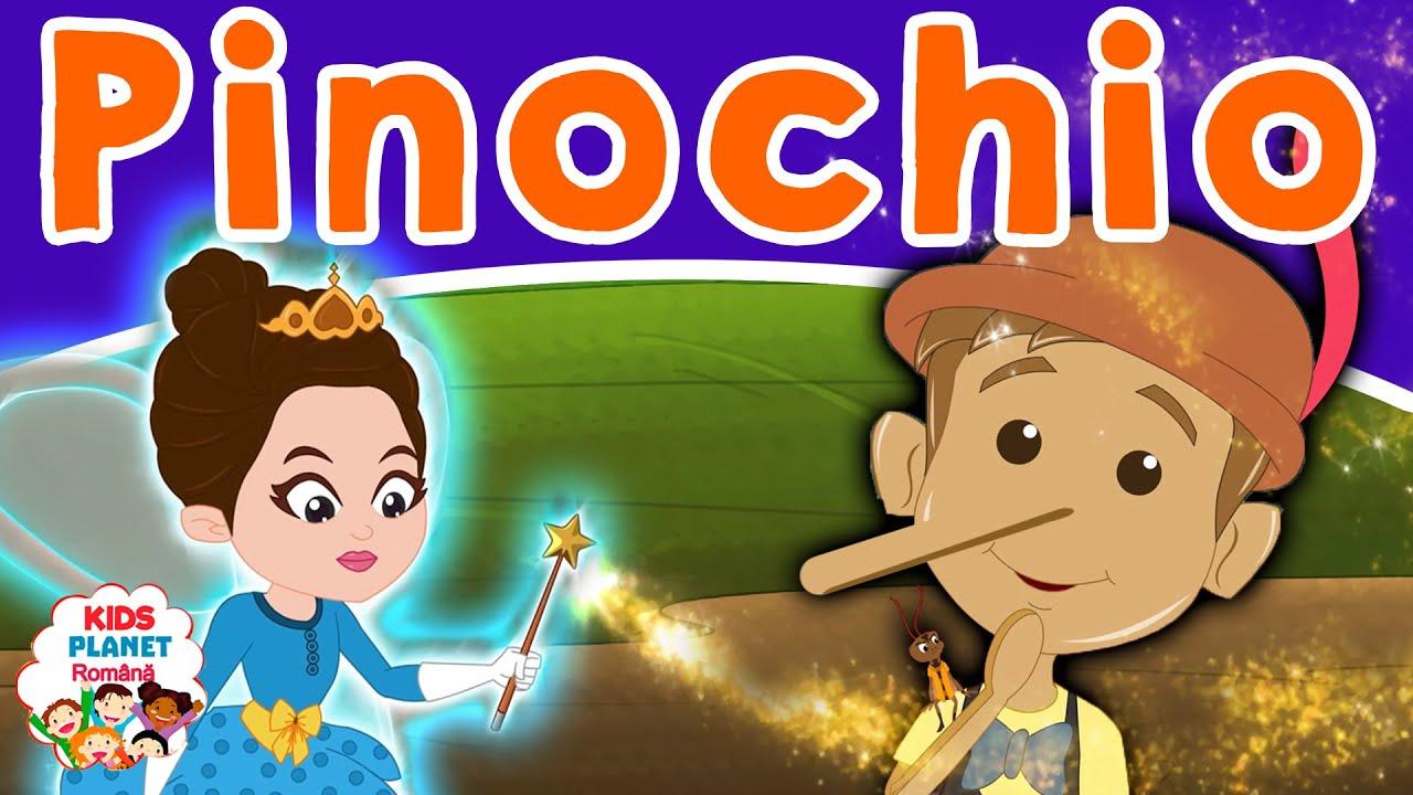 Pinochio (Pinocchio) | Povesti Pentru Copii | Basme În Limba Română | Desene Animate