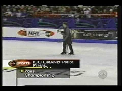 Sale & Pelletier (CAN) - 2001-2002 Season Grand Prix Final, Pairs's Free Skate, Round 3