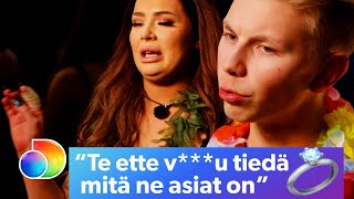 Ex On The Beach Suomi Afterski | Sormus menee tunteisiin | discovery+ Suomi