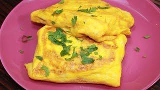 Конвертик к Завтраку за 5 минут. Сытный и Вкусный Завтрак очень быстро