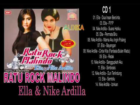 ELLA & NIKE ARDILLA   RATU ROCK MALINDO I FULL ALBUM