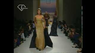 Herve Leger - Fall Winter 1995-1996 - RTW Show ft Eva Herzigova- FashionTV